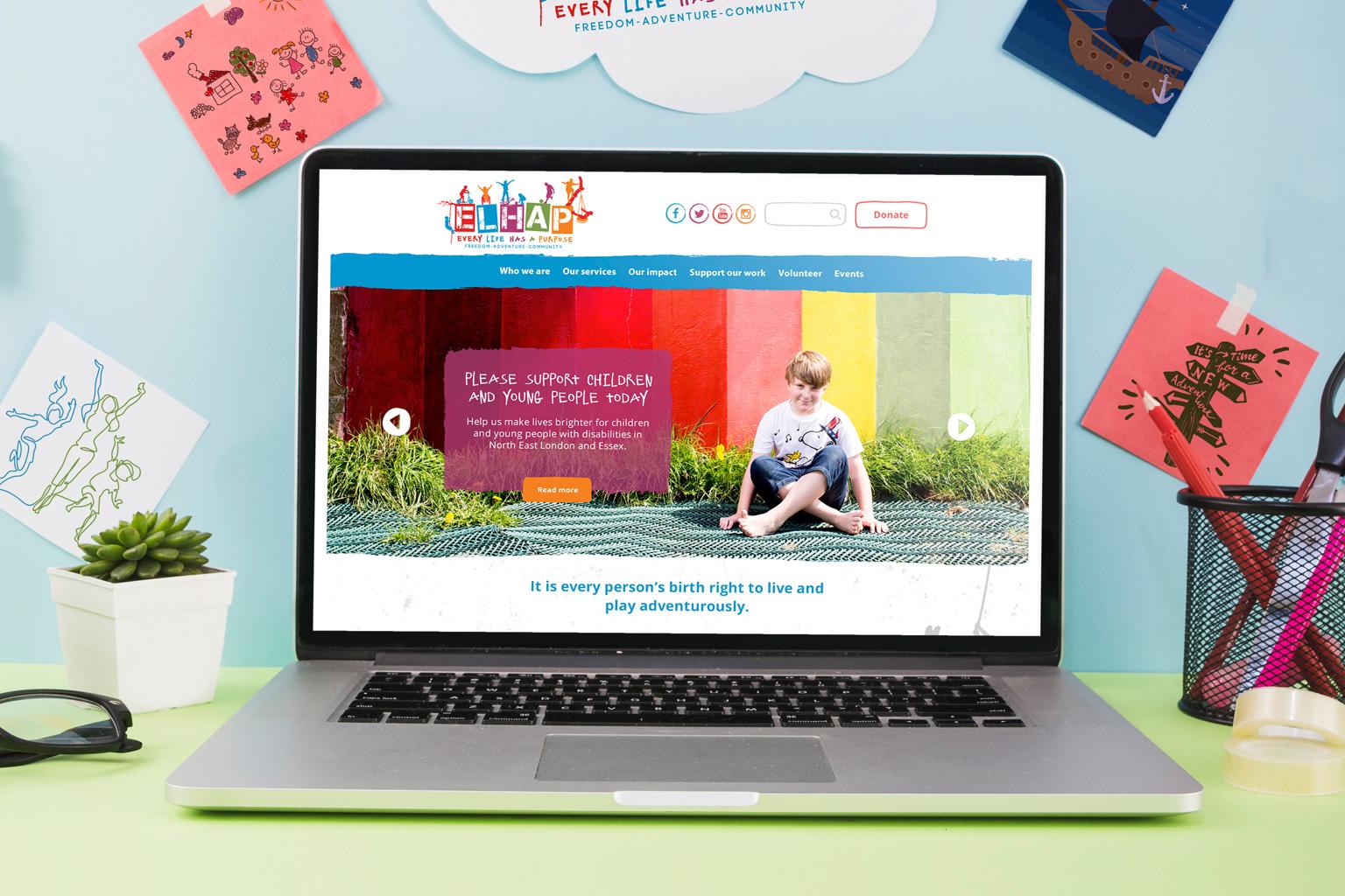 elhap-website-laptop