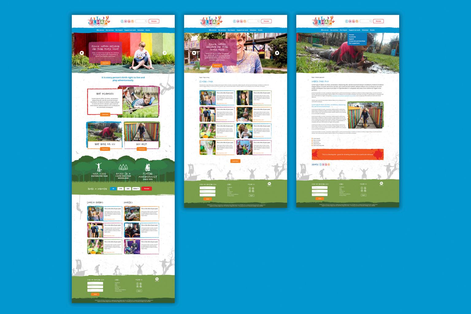 elhap-website-screens